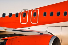 'Emergency Exit' (SONICA Photography) Tags: airbus a319 easyj easyjet londonsouthendairport plane flugzeug avion essex sarfend