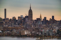 Morning (karinavera) Tags: 70200 city longexposure night photography cityscape urban ilcea7m2 sunset newyork manhattan empirestate sunrise