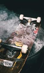 Nishika N8000 - Roll2_UpInFlames (Slumworm) Tags: nishika n8000 n9000 35mm half frame filmphotography burnside skatepark skateboarding 3d photography animated gif quadra lens