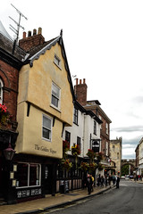 The Golden Slipper (MikeTheExplorer) Tags: york yorkshire england unitedkingdom greatbritain traveling traveler wanderlust explore discover travelling traveller architecture city streetphotography nikon nikond3100 dslr camera pub bar timberframe house