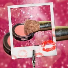 In my makeup bag! (Babethaude) Tags: smileonsaturday colored closeup bag brush makeup elegance feminine feminity