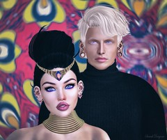 JEWELS 💍 (ღ Sɑrɑɑh Drɑgoone ღ) Tags: couple love avatar secondlife pic photo gorgeous girl men blond brunett sexy face blue bentoav shop gente peopple catwa