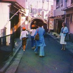 etgv (woodcum) Tags: people street walk blackhole portal lady photomanipulation retro vintage postcard surreal color