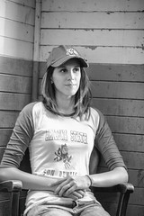 Jessica (Thomas Hawk) Tags: america angelisland angelislandphotowalk bayarea california jessicagreene marin marincounty northerncalifornia sfbayarea sanfrancisco usa unitedstates unitedstatesofamerica westcoast bw island norcal fav10 fav25