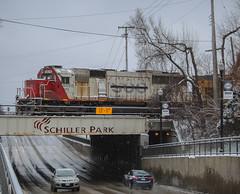 Over and Under (SantaFe669) Tags: sooline cefx sd60 trains unionpacific sd70ace railfanning railroads diesellocomotives locomotives