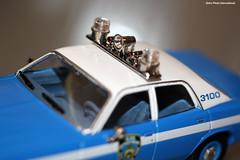 Lightbar (Retro Photo International) Tags: lightbar nypd plymouth fury police patrol car 143 carl zeiss jena tessar 50mm 35 macro macromondays hard light diecast hardlight
