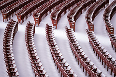 Where the Seats Have Snow Name (Carl's Captures) Tags: pritzkerpavilion millenniumpark chicagoillinois jaypritzker seat seating rows winter wintry snow snowy empty red white patterns cityofchicago cookcounty downtown thewindycity venue repetition chairs abstract urban performance aisles february cityscape theater outdoors diagonal nikond7500 sigma18300 photoshopbyfehlfarben thanksbinexo