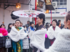 Lunar New Year parade in Yokohama Chinatown 滿清旗人服裝秀 (DigiPub) Tags: 藍金黃 気質 explore 女性らしさ femininity 文化渗透 横滨中华街 横浜中華街 正月 旧暦新年 陰曆年 滿族服裝 滿洲國服裝 遊行 過年 春節 橫濱中華街 橫濱旗袍聯合會 1130551586 istockbygettyimages 2019 adultsonly annualevent artscultureandentertainment blurredmotion celebration celebrationevent cheerful cheongsam chineseculture chineseethnicity chinesenewyear costume enjoyment entertainmentevent event famousplace fur groupofpeople happiness horizontal humaninterest japan kanagawaprefecture largegroupofpeople manchu motion onlywomen outdoors parade people performance performer photography spectator street summer threequarterlength traditionalclothing traveldestinations umbrella women yokohamachinatown reportage reportaje mondneujahr লুনারনতুনবছর चंद्रनयाँवर्ष שנתירחחדשה лунныйновыйгод tếtnguyênđán السنةالقمريةالجديدة ચંદ્રનુંનવુંવર્ષ añonuevolunar солинавимор