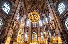 Lorenzkirche (werner boehm *) Tags: wernerboehm lorenzkirche nürnberg interior architecture