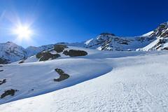 Sole (Roveclimb) Tags: mountain montagna alps alpi vallese valais svizzera suisse sempione simplon ossola scialpinismo skitouring winter inverno snow schnee neve galehorn simplonpass engiloch sirvolte sirvoltesattel sirvoltesee sun sole sky cielo