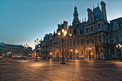 Hôtel de ville, Paris, France (o.mabelly) Tags: contaxyashica a7 ilce sony a7rii paris carl zeiss contax yashica ilce7rm2 novoflex cy france distagon f28 25mm hôtel mairie city ville europe