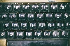 Don't Know Much About History (Thomas Hawk) Tags: america bayarea california kph kphmarineradiostation kphmaritimeradio marin marincounty pointreyes pointreyesstation sfbayarea usa unitedstates unitedstatesofamerica westcoast westernmarin radiostation typewriter us fav10 fav25