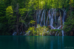 soundless forest (ck0375s) Tags: landscape nature water reflection croatia plitvice waterfall lake forest wood nikon travel trip amateur longexposure tripod