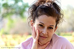 Ella, siempre ella. (Del Matorral Fotografía) Tags: delmatorral retrato mujer diegoblancoaraujo nikon bella portrait woman d3100