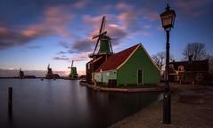 Dutch clouds (reinaroundtheglobe) Tags: zaanseschans nederland holland noordholland netherlands dutch dutchlandscape windmill traditionalwindmill frozenwater longexposure clouds morning colorful reiniersnijders reinaroundtheglobe