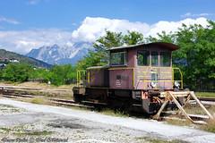 D214_Calalzo_16set18 (treni_e_dintorni) Tags: d214 calalzo veneto trenidintorni treniedintorni diesel manovra thomasradice train locomotore stazione