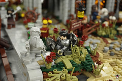 Lond Daer - Ode to the shipbuilding god (Barthezz Brick) Tags: lego lond daer middle middleearth medieval fantasy moc afol barthezz barthezzbrick brick custom lotr lord rings lordoftherings shipyard pub castle wall city
