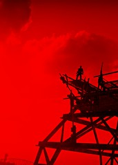 """""""Red heat"""" (L1netty) Tags: madmax avalanchestudios warnerbros pc game gaming pcgaming videogame reshade screenshot virtual digital 6k srwe character max man male people sky clouds color red outdoor"""