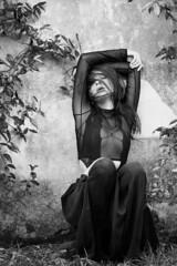 Ana Tomouanu (FotoGrafiche FS) Tags: a6500 apsc sony sonyalpha face portrait emount bokeh vintagelens italy rome bw model anatomouanu nature