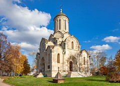 The Savior Cathedral of the Savior-Andronikov Monastery (Moscow, Russia) (KonstEv) Tags: church orthodox cathedral rublev monastery architecture building moscow russia andronikov autumn sky