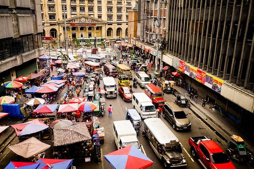 Busy Street in Manila by wuestenigel, on Flickr