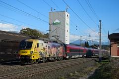 1116 153, rj/IC 591 ( Villach > Salzburg ). Pusarnitz (M. Kolenig) Tags: 1116 railjet öamtc tauernbahn