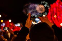 New years in paris (lukefedida) Tags: paris new years 2019 fire fireworks light nikon 50mm people
