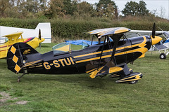 Pitts S-2E Special - 01 (NickJ 1972) Tags: shuttleworth collection oldwarden race day airshow 2018 aviation pitts s2 special gstui aerobatic