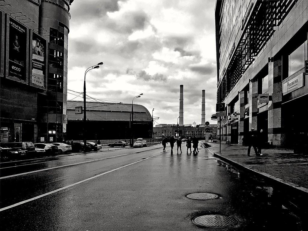 фото: Moscow. Kiev station. Morning