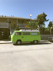 Newport Beach (vhickey25479) Tags: green california van newportbeach