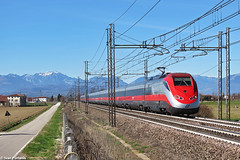 TI E.404.5**. Grisignano di Zocco (Ivan Furlanis) Tags: treno train zug ferrovia bahn eisenbahn rail railway railroad italia italy italien veneto