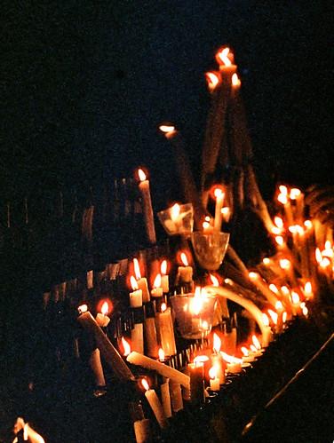 Fátima Shrine Candles (3)