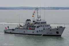 FS Panthère (A749) (mattmckie98) Tags: french france ship southsea nikon navy military vessel portsmouth