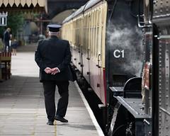 _1008733 (Stephen.Bingham) Tags: gloucestershirewarwickshiresteamrailway dinmoremanor dcg9 steamlocomotive steamengine ccbysa creativecommons attributionsharealike stationmaster gwsr