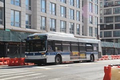 IMG_5108 (GojiMet86) Tags: mta nyc new york city bus buses 2015 xd40 7134 subway shuttle jackson avenue 23rd street
