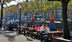 2018 revisited 46 (Peter ( phonepics only) Eijkman) Tags: amsterdam city water canals grachten gracht trapkar bn gvb tram transport trams tramtracks trolley rail rails strassenbahn streetcars nederland netherlands nederlandse noordholland holland