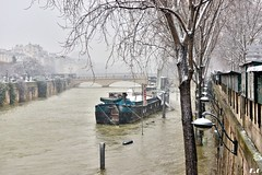 Paris (pontfire) Tags: neige snow paris février 2018 inondation