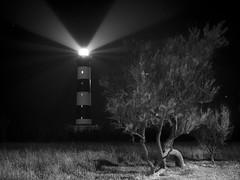 Eric Marchand Fiat Lux et facta est lux (2) (eric_marchand_35) Tags: charentemaritime oléron ile island phare lighthouse lightbeam nb bw france olympusomdem10ii 17mm18 atlantic night