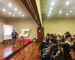 Speaker para Globalcaja en la Consejería de Educación de la Junta de Comunidades de Castilla La Mancha.
