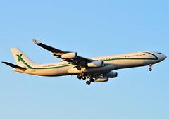 9H-BIG AIR X Charter Airbus A340-300 (czerwonyr) Tags: 9hbig air x charter airbus a340300 fra eddf