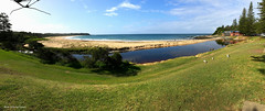Black Head Lagoon & Beach, Hallidays Point, Mid North Coast, NSW (Black Diamond Images) Tags: blackheadlagoon blackheadbeach hallidayspoint midnorthcoast nsw blackhead australianbeaches beach lagoon outdoor australia iphonepanorama iphone7s iphone appleiphone iphone7plusbackdualcamera appleiphone7plus panorama appleiphonepanorama appleiphone7spanorama iphone7spanorama