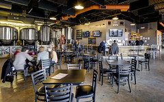 Lone Tree Brewery (.sanden.) Tags: lonetreebrewery lonetree colorado us unitedstates canon7dmarkii efs1018mm interior furniture table chair room pub building bar dining indoor ceiling person seat interiordesign tavern area city indoors urban window living business people open group large inside sitting travel wooden brewery
