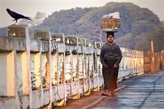 """Off to Work"" - U Bein Bridge, Amarapura, Myanmar (JR Marquina) Tags: travel burma southeastasia explore amarapura myanmar ngc"