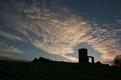 Good Morning Old John (ianderry64) Tags: leicestershire leicester park bradgate oldjohn folly tower silhouette skyscraper landscape cloud morning