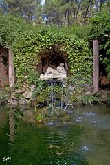 El parc del Laberint d'Horta (svet.llum) Tags: barcelona catalunya cataluña paisaje paisatge parque parc escultura arquitectura agua otoño naturaleza fuente