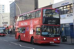 AL VLA143 @ Hainault Street, Ilford (ianjpoole) Tags: arriva london volvo b7tl alexander alx400 lj55btf vla143 working route 128 romford train station claybury broadway