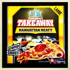 Manhattan Meaty (Julie (thanks for 8 million views)) Tags: 100xthe2019edition 100x2019 image27100 hipstamaticapp pizza nationalpizzaday stuffedcrust food advertising squareformat 2019onephotoeachday
