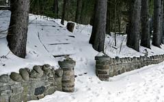 Snow Covered Stone Stairs (Bill Smith1) Tags: agfavista200 believeinfilm billsmithsphotography caledon2019 heyfsc nikkorai50f14lens nikonfm