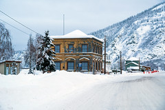 _ROS3466-Edit.jpg (Roshine Photography) Tags: yukonquest dawsoncity winter environmental transportation historic architecture canadianbankofcommerce boats buildingsandstructures snow downtown yukon canada ca
