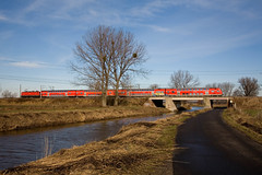 DB RE 38211 Wismar - Ludwigsfelde - Bredow (Rene_Potsdam) Tags: regionalexpress bredow deutschland brandenburg europe europa treinen trenes trains züge railroad br112